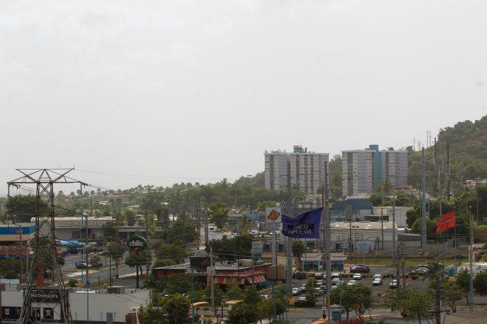 Lunes brumoso: una masa de aire seco con polvo del Sahara llega a Puerto Rico