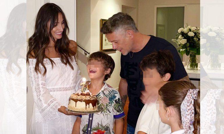 Alejandro Sanz no se pierde la fiesta de cumpleaños de Max, hijo de Rachel Valdés