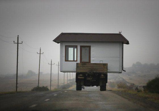 Azerbaiyán reclama tierras en torno a Nagorno-Karabaj