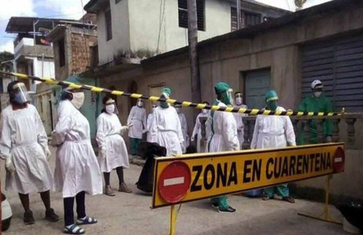 Cuba con una de las tasas de incidencia de COVID-19 más altas del mundo